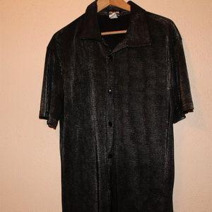 Other - Vintage YMLA Mens Disco Shirt